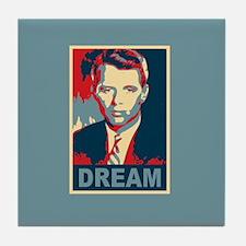 RFK DREAM Artistic Tile Coaster