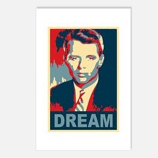 RFK DREAM Artistic Postcards (Package of 8)
