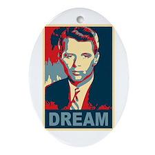 RFK DREAM Artistic Oval Ornament
