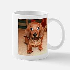 Red Doxie Puppy Mug