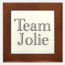Team Jolie 3 Framed Tile