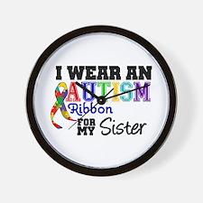 Autism Ribbon Patients Wall Clock