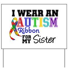 Autism Ribbon Patients Yard Sign