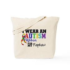 Autism Ribbon Nephew Tote Bag