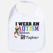 Autism Ribbon Nephew Bib