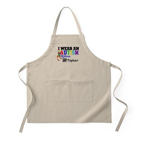 Autism Ribbon Nephew BBQ Apron