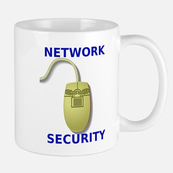Network Security Mouse Design Mug