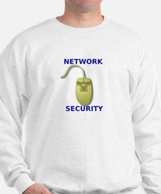 Network Security Mouse Design Sweatshirt