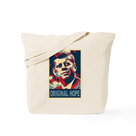 JFK ORIGINAL HOPE Pop Art Tote Bag