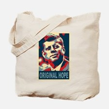 JFK ORIGINAL HOPE Pop Art Tote Bag