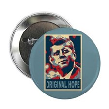 "JFK ORIGINAL HOPE Pop Art 2.25"" Button"