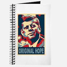 JFK ORIGINAL HOPE Pop Art Journal