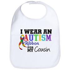Autism Ribbon Cousin Bib