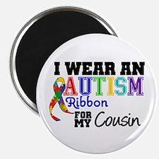 Autism Ribbon Cousin Magnet