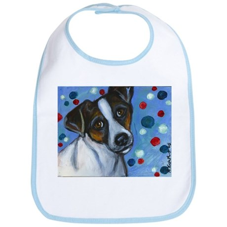 Portrait of a Jack Russell Bib