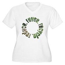 Reduce Reuse Recycle ~ circle T-Shirt