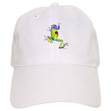 Frog Spring Green Baseball Cap
