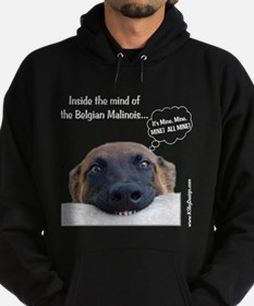 Mind of the Malinois Hoodie (dark)