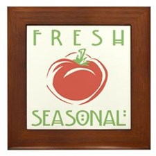 Fresh Seasonal Framed Tile