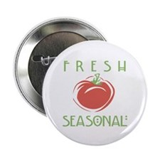 "Fresh Seasonal 2.25"" Button (100 pack)"