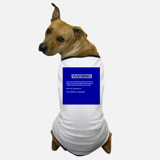 Personal Bubble Dog T-Shirt