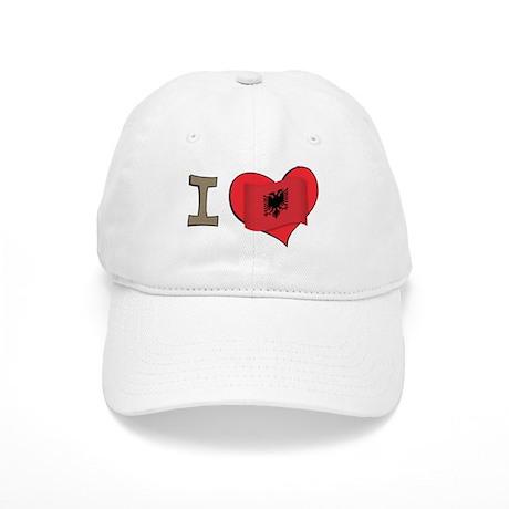 I heart Albania Cap