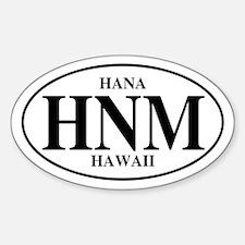 HNM Hana Oval Decal