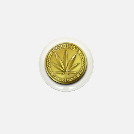 Phelps Gold Mini Button