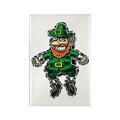 St. Patrick's Leprechaun Rectangle Magnet