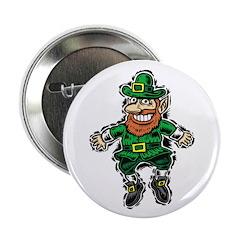 "St. Patrick's Leprechaun 2.25"" Button"