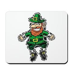 St. Patrick's Leprechaun Mousepad