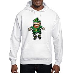 St. Patrick's Leprechaun Hoodie