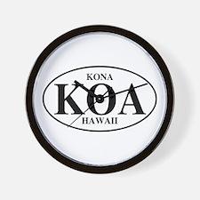 KOA Kona Wall Clock