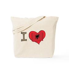 I heart Albania Tote Bag