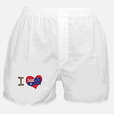 I heart Australia Boxer Shorts