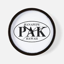 PAK Hanapepe Wall Clock