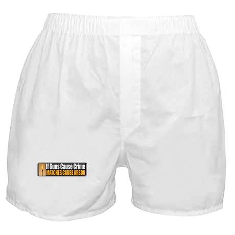 Guns and Arson Boxer Shorts