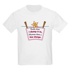 line change dump T-Shirt