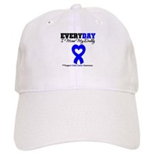 ColonCancerHeart Daddy Baseball Cap