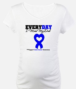 ColonCancerHeart Dad Shirt