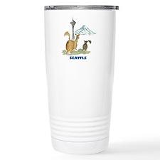 Seattle Ceramic Travel Mug
