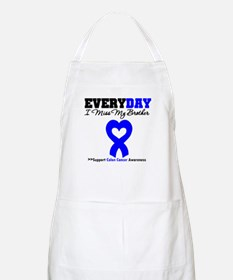 ColonCancerHeart Brother BBQ Apron