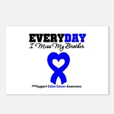 ColonCancerHeart Brother Postcards (Package of 8)