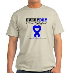 ColonCancerHeart Boyfriend T-Shirt