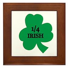 1/4 Irish Framed Tile