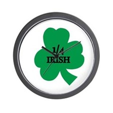 1/4 Irish Wall Clock
