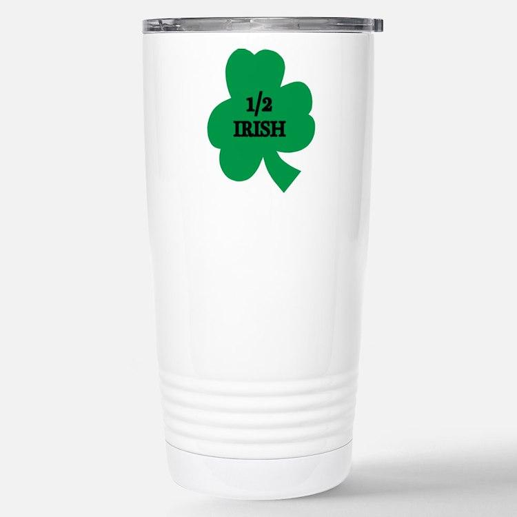 1/2 Irish Travel Mug