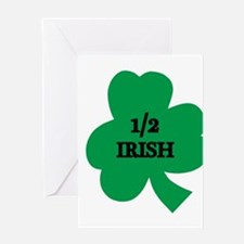 1/2 Irish Greeting Card