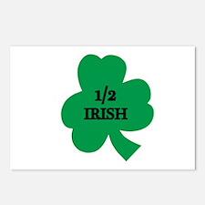 1/2 Irish Postcards (Package of 8)