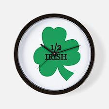 1/2 Irish Wall Clock